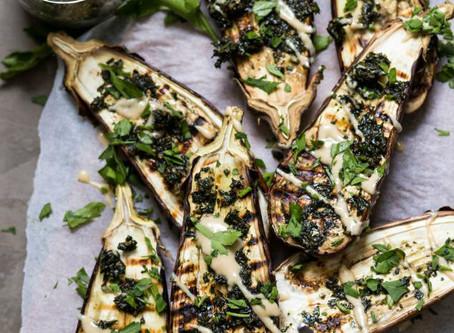 Charred Eggplant - Yes Please!