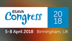 Join us at BSAVA Congress 5-8 April 2018.  Stand Number 523