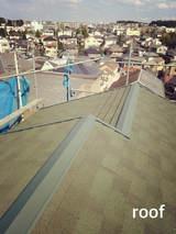 施工例 屋根 板金