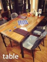 施工例 テーブル
