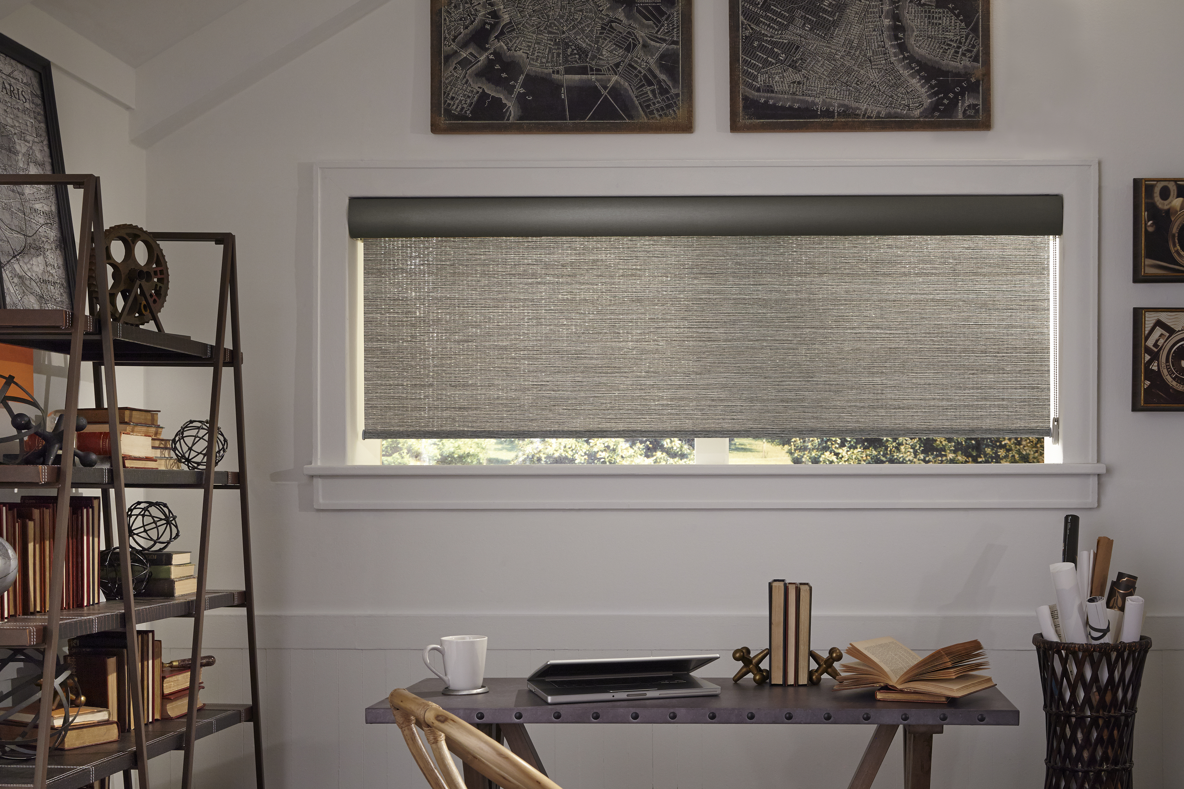Genesis Season-Vue Roller Shades with Exterior Cable Guide System (3)