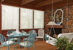 Genesis Season-Vue Roller Shades with Exterior Cable Guide System