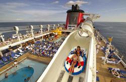Disney Cruise Line Disney Fantasy and Disney Dream AquaDuck photo(c)Disney Kent Phillips Photographe