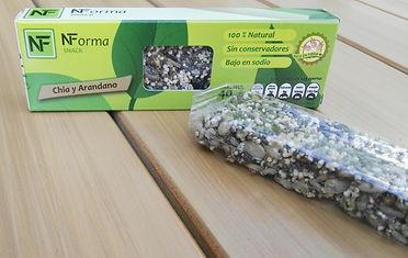 Barras de semillas saudables, snacks para diabeticos