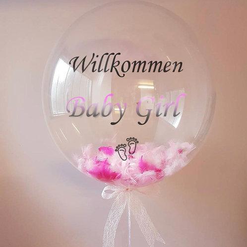 Baby Girl Deluxe Ballon