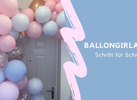 DIY Anleitung: Luftballongirlande / Ballongarland selber machen