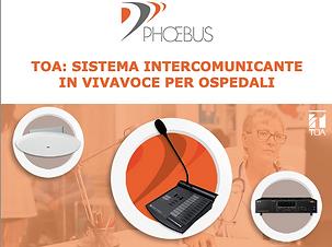 Phoebus - sistema intercomunicante osped