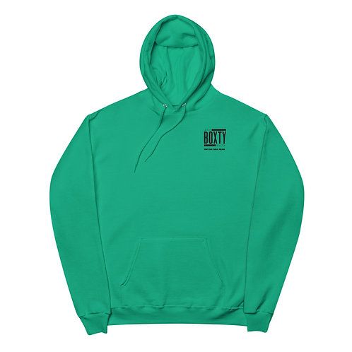 Unisex Boxty Hoodie Green