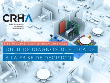 Outils de l'Ordre des CRHA : Le guide du Travail hybride : un nouvel outil de diagnostic!