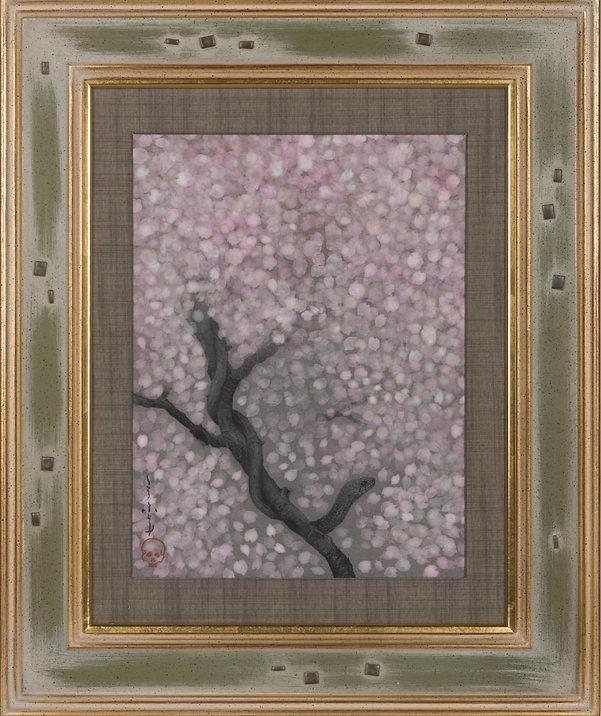 桜  縦33cm横25cm