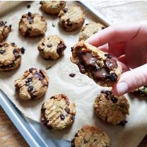 High Fibre Choc Cookies