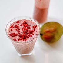 Mango & Raspberry Smoothie