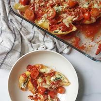 Ricotta & Spinach Pasta Shells