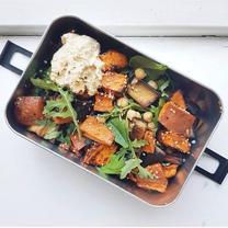 Miso Sweet Potato Salad