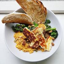 Halloumi Breakfast Bowl