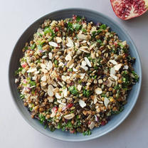 Lentil Quinoa Tabouli