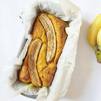 Tumeric Blueberry Banana Bread