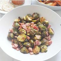 Bacon & Orange Sprouts