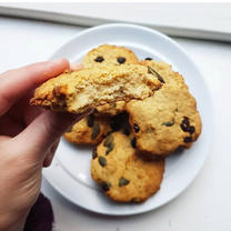 Chickpea Tahini Cookies
