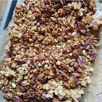 Elderflower Granola