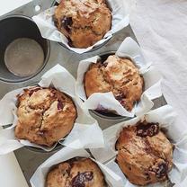 Hi Fibre Cherry Muffins