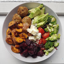 Falafel Nourish Bowl