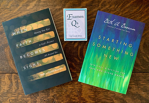Bundle: When Faith Becomes Sight + Starting Something New + Examen Qs