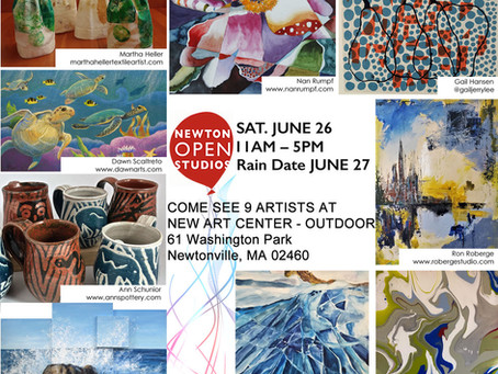 Newton Open Studios 2021 is Outdoors this year!
