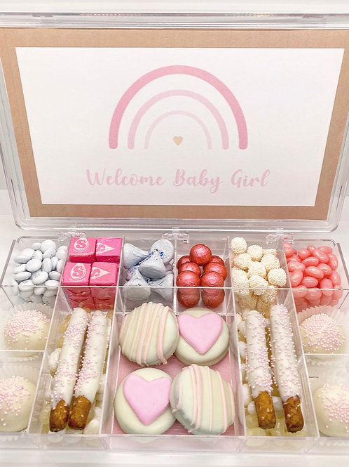 Welcome Baby Large Bento Box - Pink