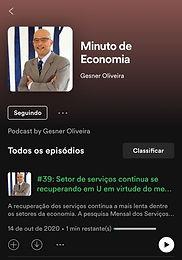 PODCAST - MINUTO DE ECONOMIA