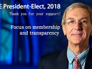 IEEE members elected Jose M. F. Moura as 2018 IEEE President-Elect