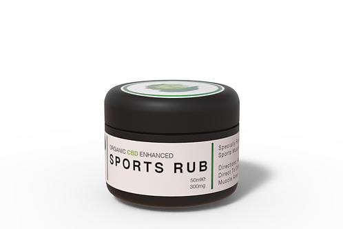Organic CBD Enhanced Sports Rub