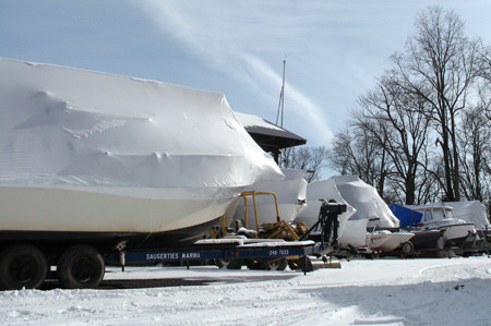 Powerboat Service & Winterizing