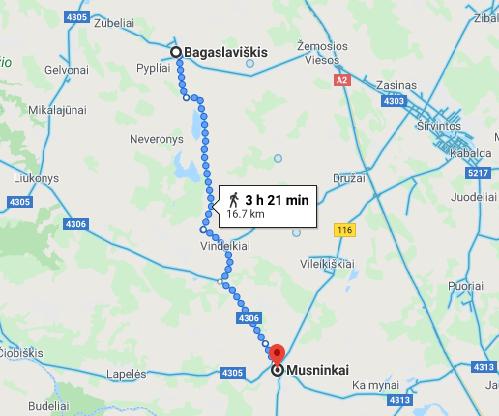 Google Maps Musninkai