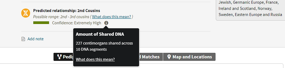 Rob DNA results