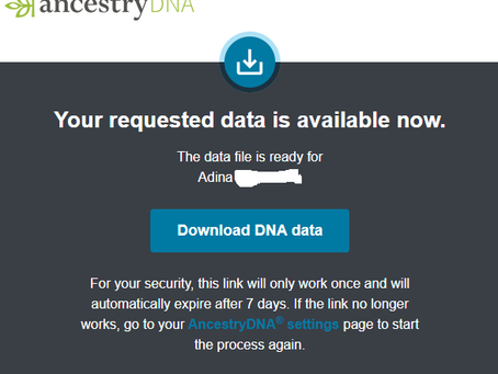 How To Download Your Raw DNA from AncestryDNA