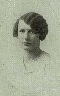 Aunt Pauline yearbook photo