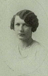 Aunt Pauline yearbook photo