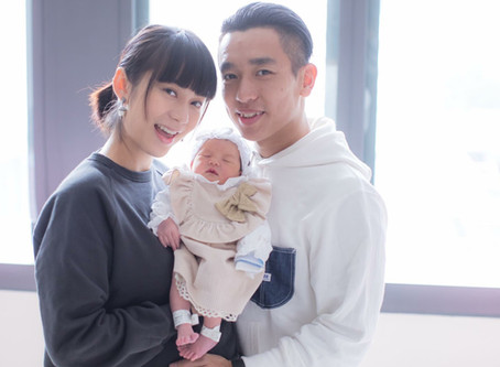 Yan Ng (吳日言)'s sweetheart daughter-Beatrice!