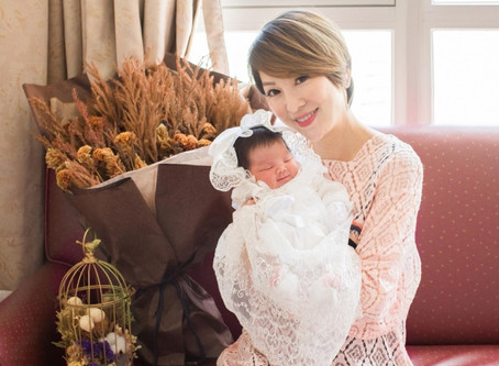 Lily(利嘉兒)'s 7.22 pounds daughter Karyssa!