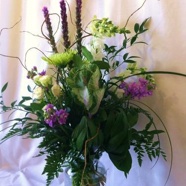 Earthy Garden Vase
