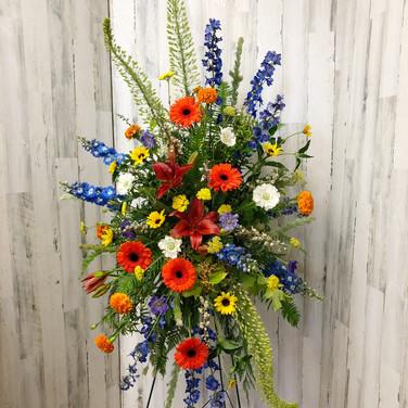 Western Wildflower Easel