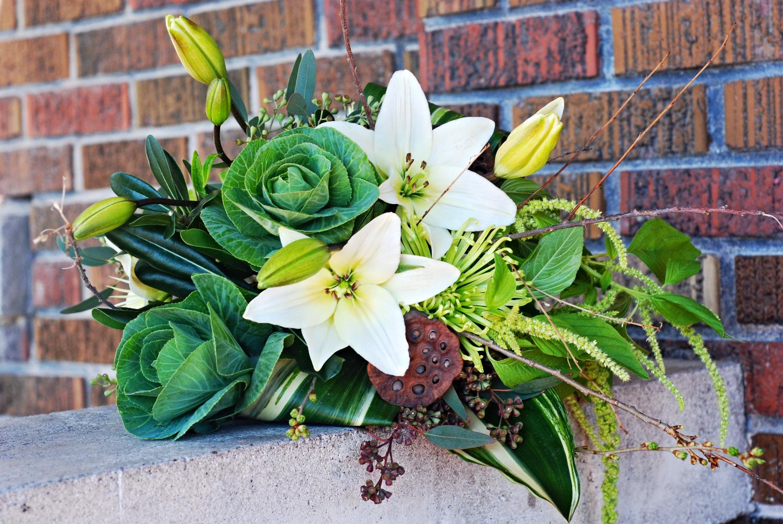Natural Cascade bouquet