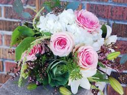 Feminine Textural Bouquet