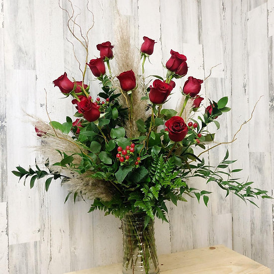 Mother's Day Dozen Rose Bouquet