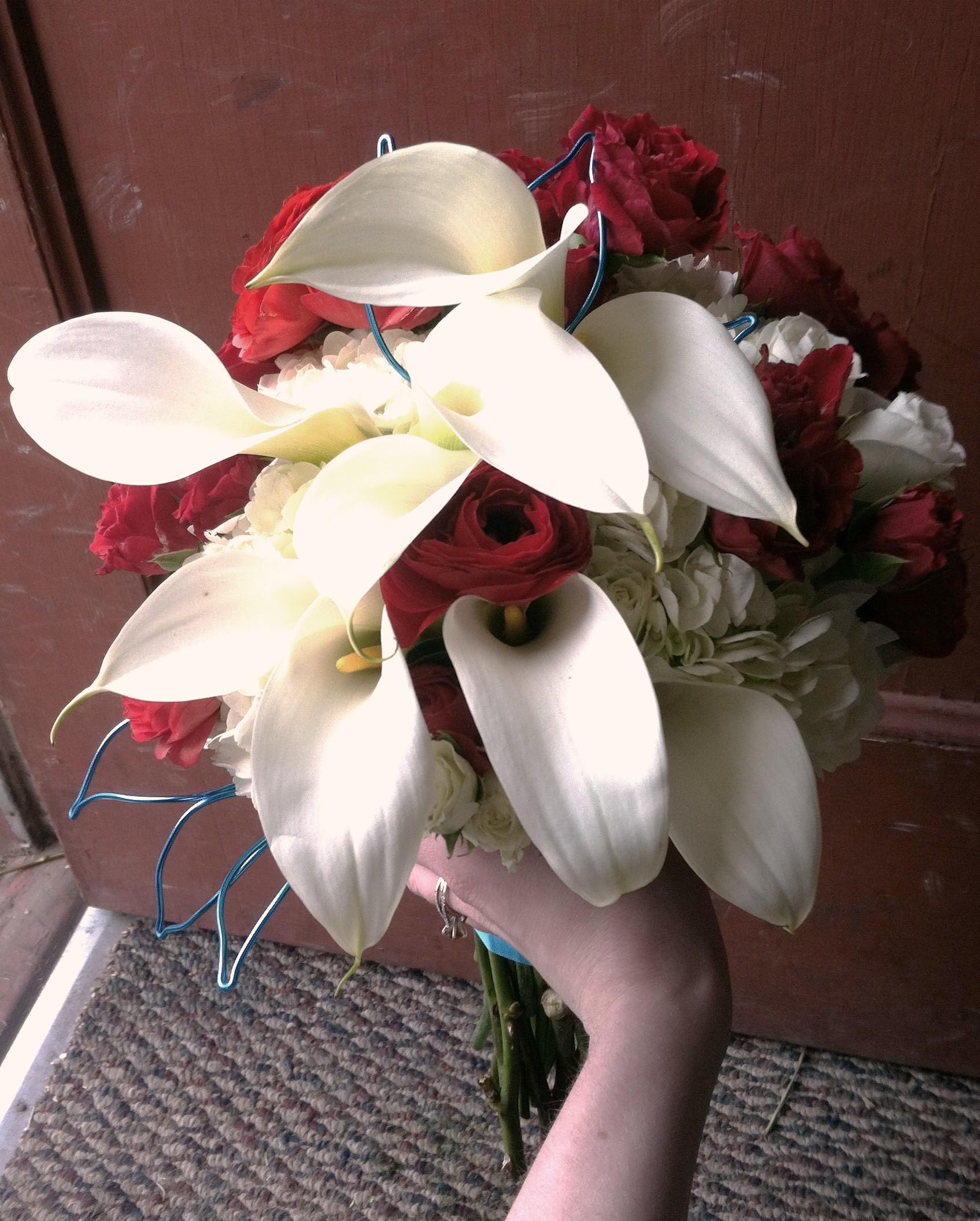 Turquoise Accent Bouquet