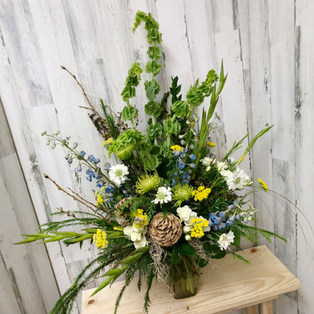 Forest Fancy Vase