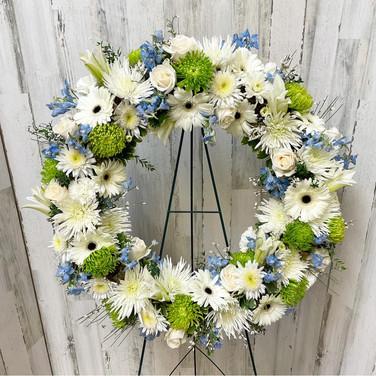 Loving Sentiments Wreath