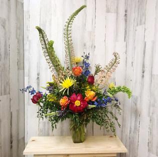 Summer Vibrance Vase