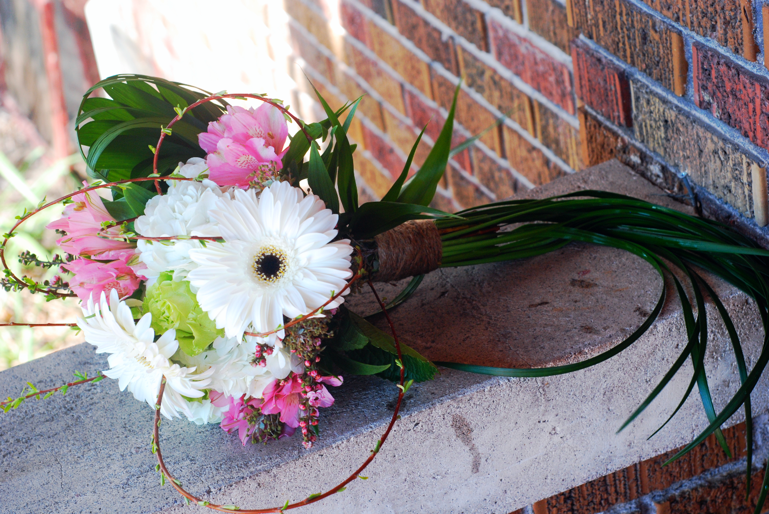 Double Sided Spring Bouquet